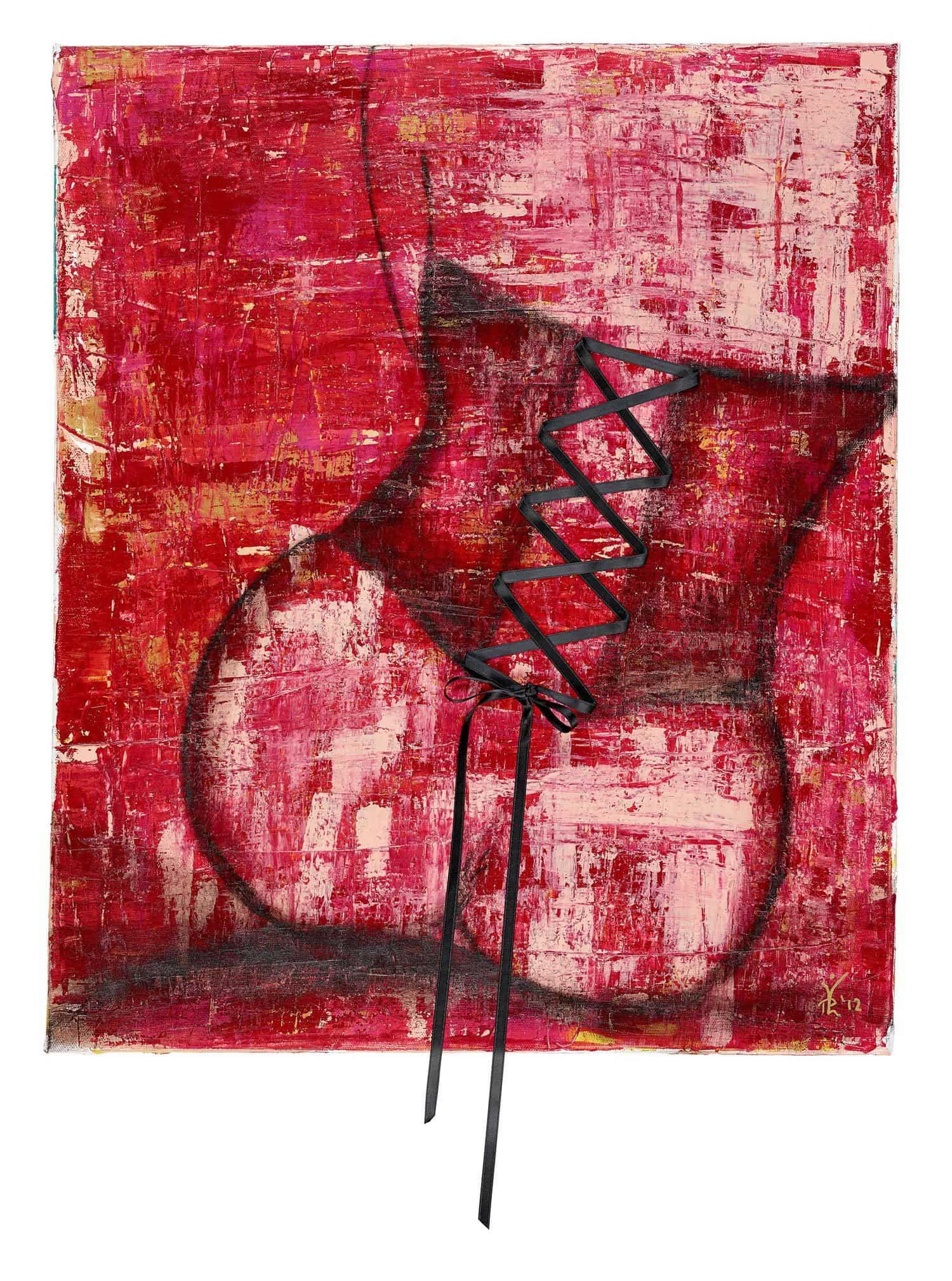 Dreaming - Acrylic / Canvas 50 x 60 cm, 19.7 x 23.6 inch