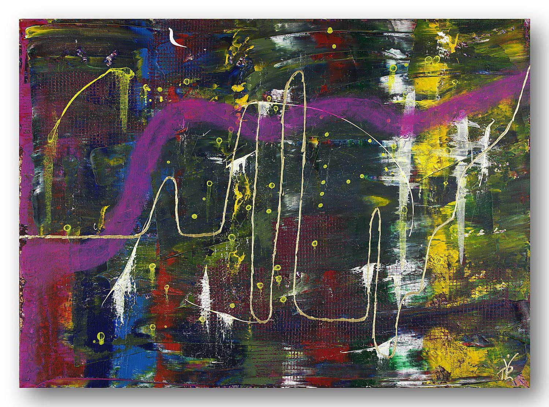 Lifelines - Acrylic / Canvas 50 x 70 cm, 19.7 x 27.6 inch
