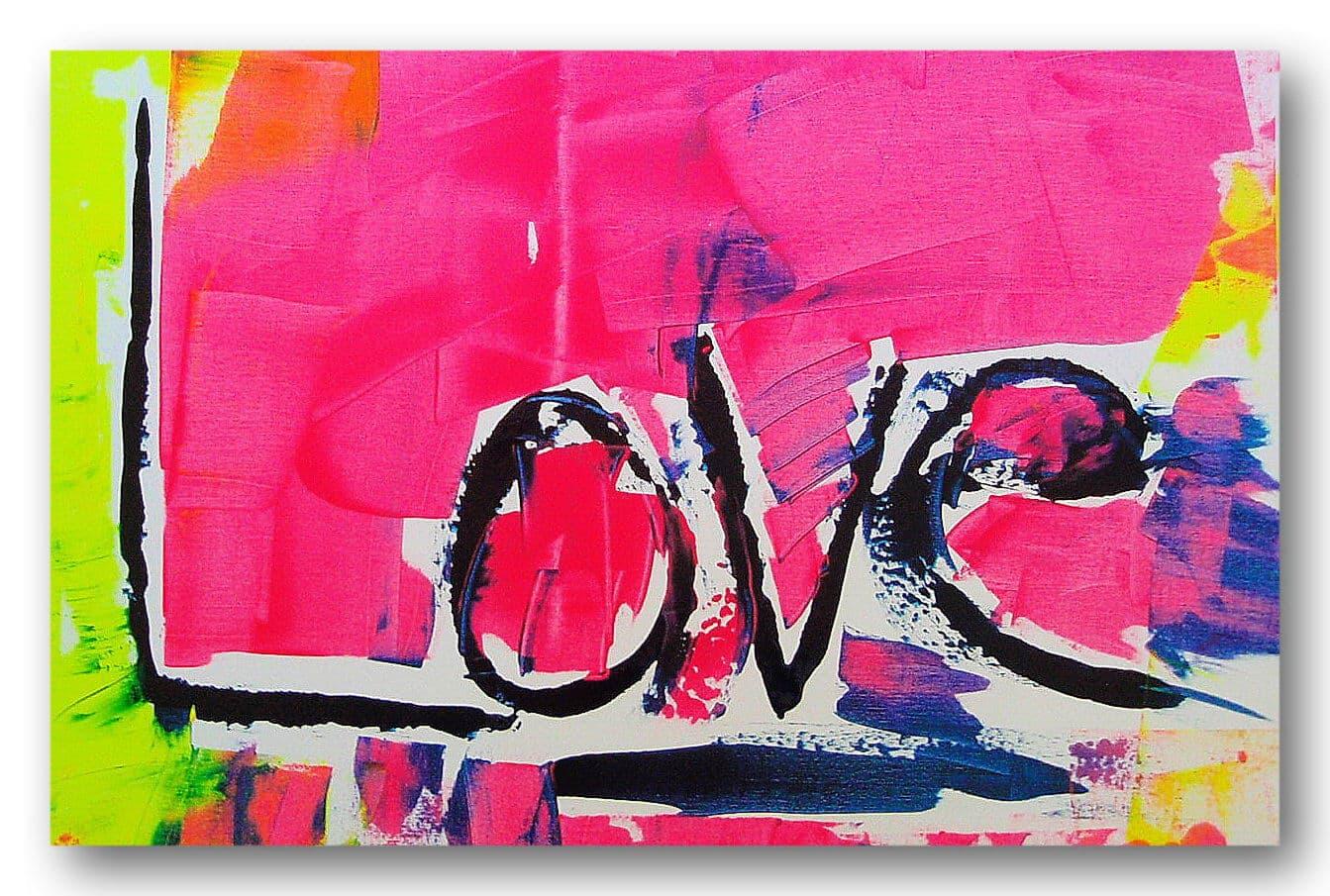 LOVE - Acrylic / Canvas