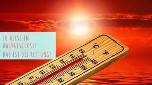 Hitzeschutz im Dachgeschoss - Büro - Frag Pam - Pam Lauren_pixabay_geralt