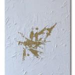 Die Befreiung - Acrylic+Gold / Canvas 40 x 80 cm, 15.8 x 31.6 inch