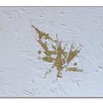 Die Befreiung - Acrylic+Gold / Canvas 80 x 40 cm, 31.6 x 15.8 inch