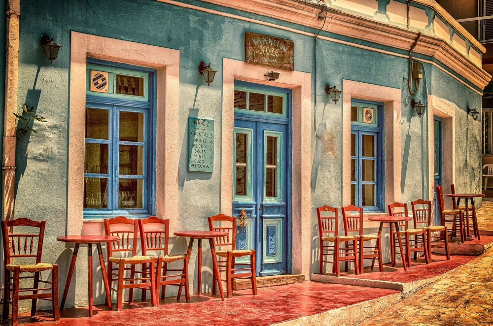 Sommer - Cafe - Farbpracht_analogicus-pixabay